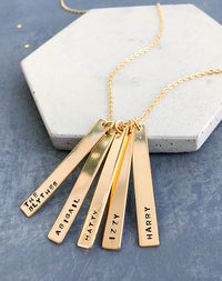 Clan - Friends & Family Sentiment Necklace