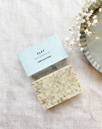 Coffee Scrub Soap by CLAY