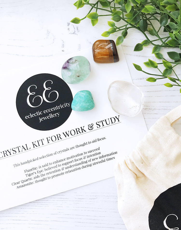 Crystal Kit For Work & Study