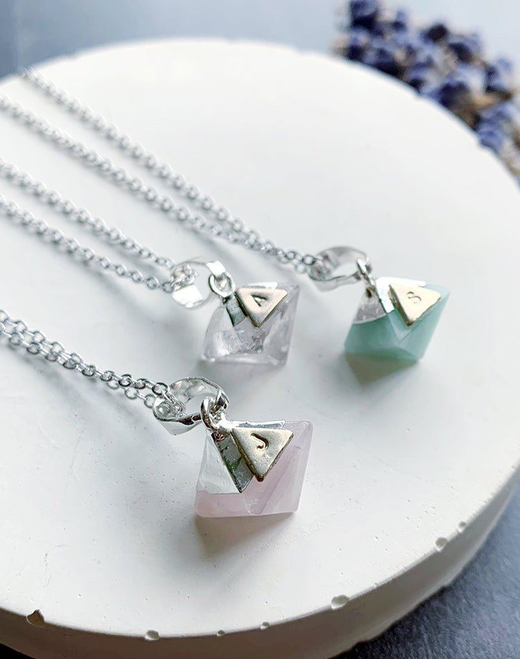 Ebb and Froze - Gemstone Necklaces