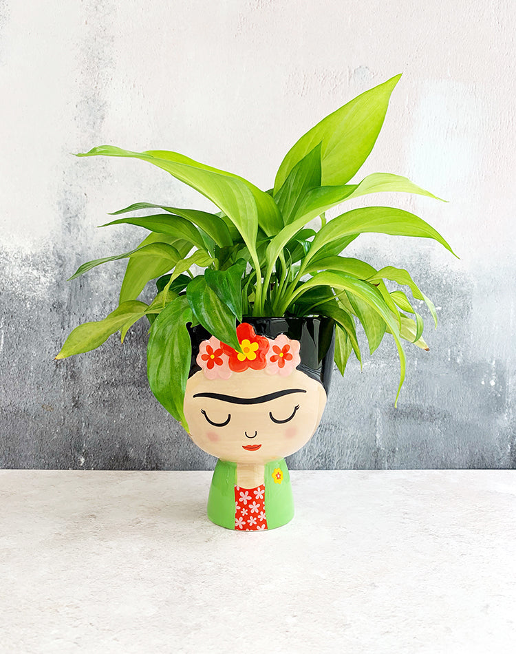 Frida Kahlo Medium Planter