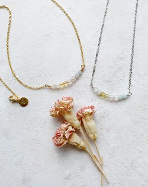 Amulet: Crystal Necklace for Friendship