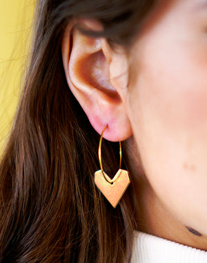 All Heart Hoop Earrings