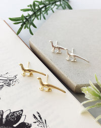 You're Roarsome - Dinosaur Stud Earrings Gift