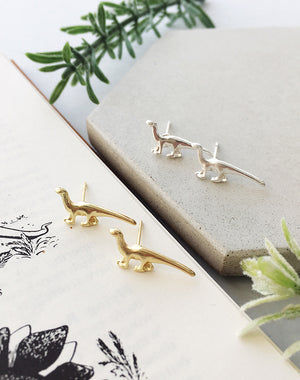 Give Me Rawr! Dinosaur Stud Earrings