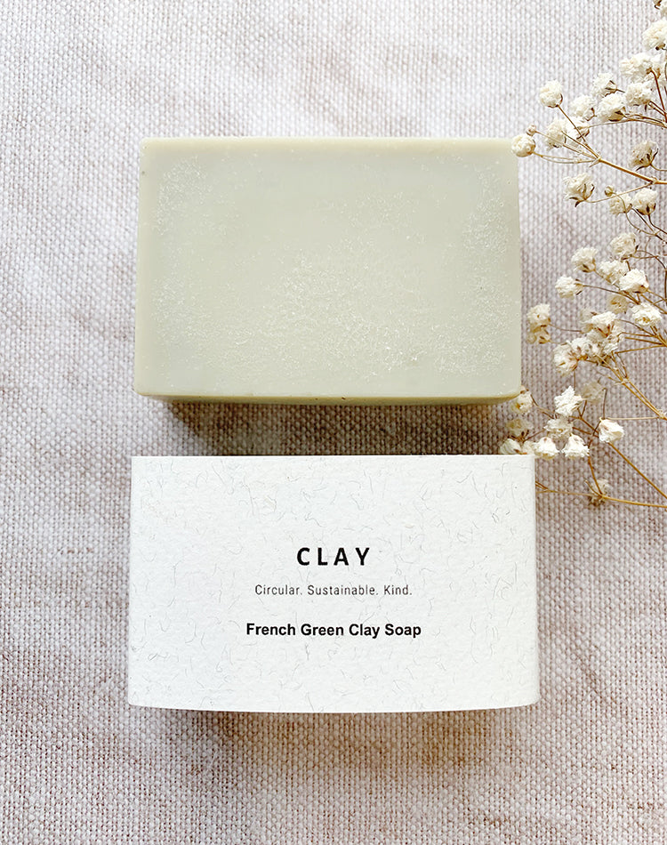 French Green Clay Soap by CLAY