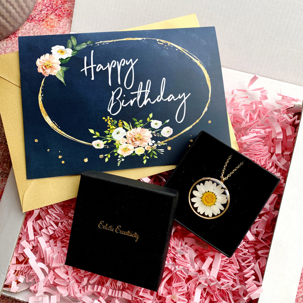 Happy Birthday Daisy Letterbox Gift