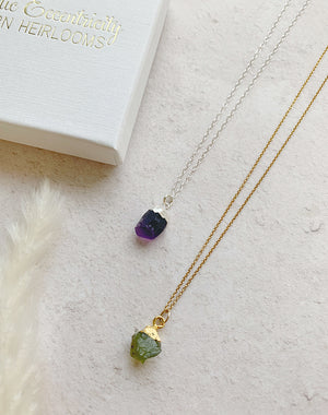 Hera Modern Heirloom Birthstone Pendant