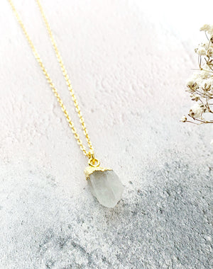 Hera Personalised June Birthstone Moonstone Necklace
