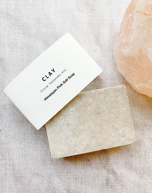 Himalayan Pink Salt Soap by CLAY