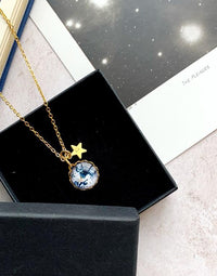 Home - Personalised Earth Necklace