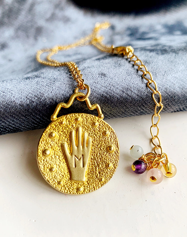 Best Wishes - Hand of Destiny Wish Necklace