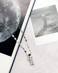 I Just Need Some Space, Man Star & Astronaut Necklace