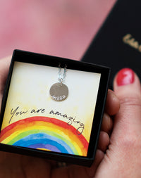 You Are Amazing - The Personalised Name Necklace Letterbox Gift