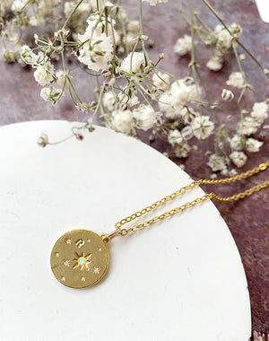 Layered: The Personalised Disc Necklace