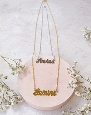 Layered: The Zodiac Necklace