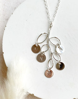 Like Family - Sterling Silver Family Tree Necklace