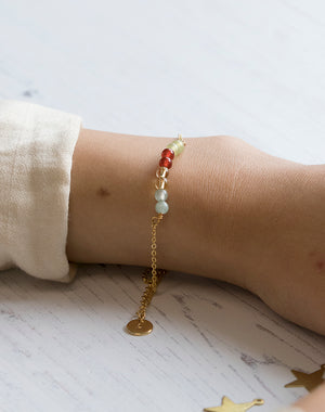 Amulet: Crystal Bracelet for Luck