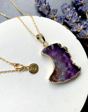 Mantle - Amethyst Necklace