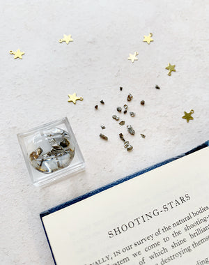 Miniature Meteorite Box