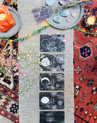 Moon Journal Flower Moon Deck