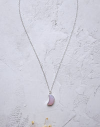 Pink Moon Gemstone Necklace