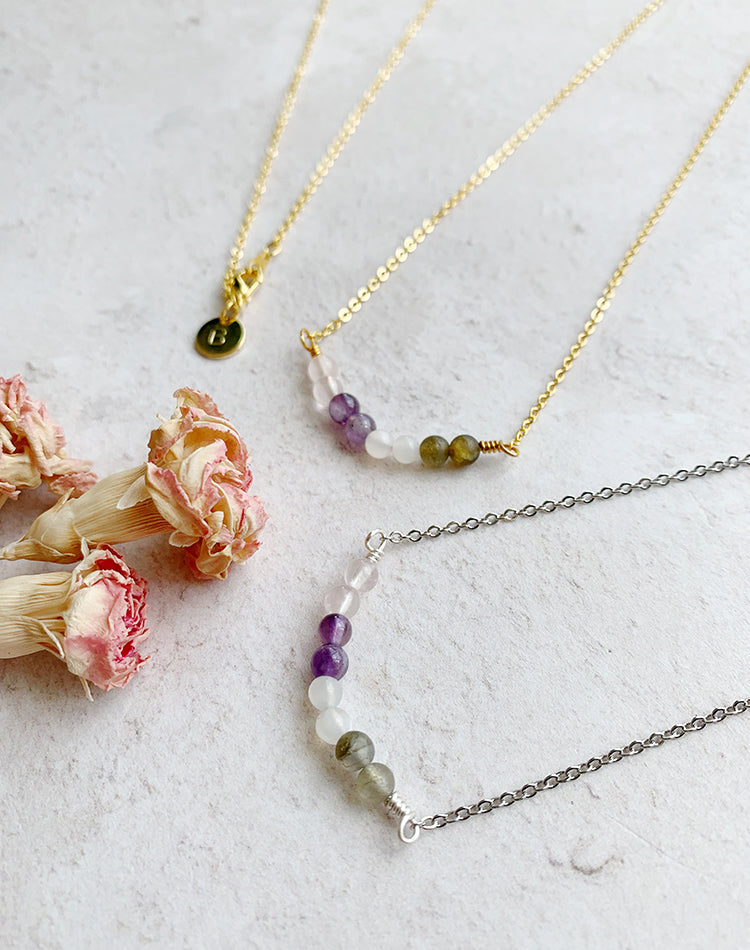 Amulet: Crystal Necklace for Motherhood