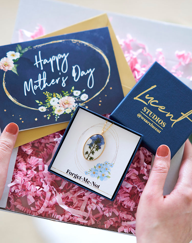 The Forget Me Not Mother's Day Letterbox Gift