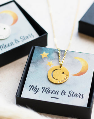 My Moon and Stars necklace