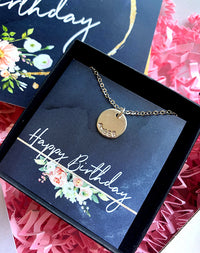 June Birthday Moonstone Birthstone Letterbox Gift