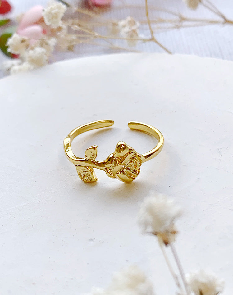 Petal - Rose Adjustable Ring