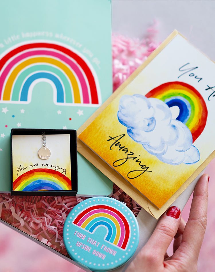 Letterbox Gift - Sass & Belle Rainbow Box