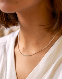 Layered: Sterling Silver Rolo Chain