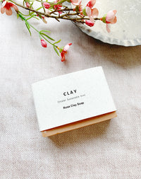 Rose Clay Soap by CLAY