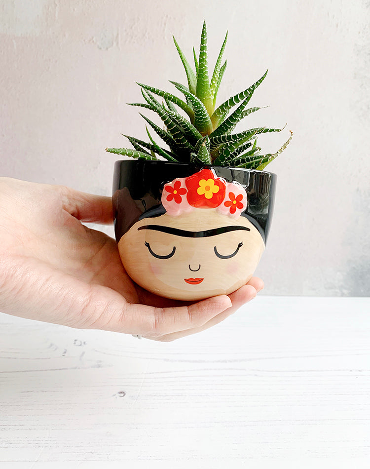 Mini Frida Kahlo Planter