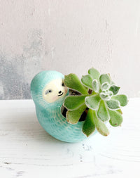 Sloth mini planter