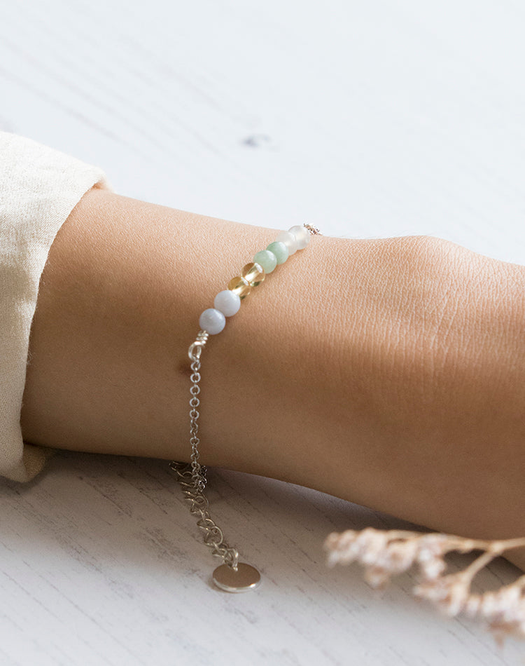 Amulet: Crystal Bracelet for Sisterhood