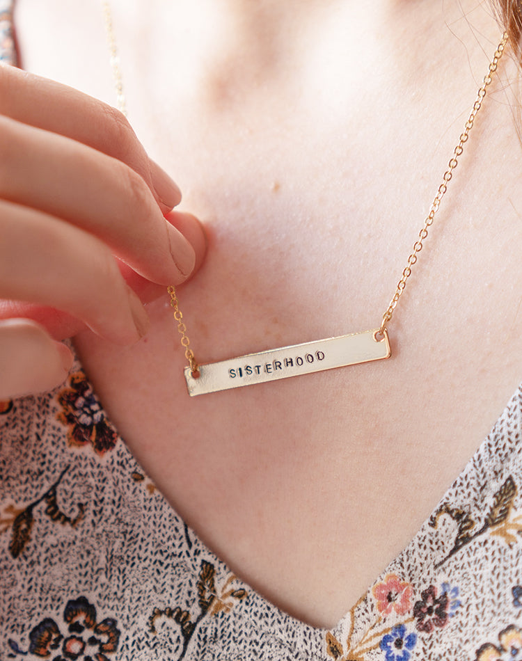 Sisterhood: in support of Women for Women International Charity Necklace