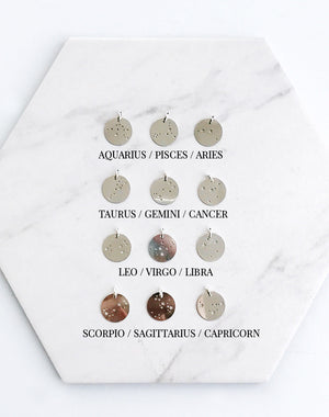 Prophecy Sterling Silver Personalised Zodiac Necklace
