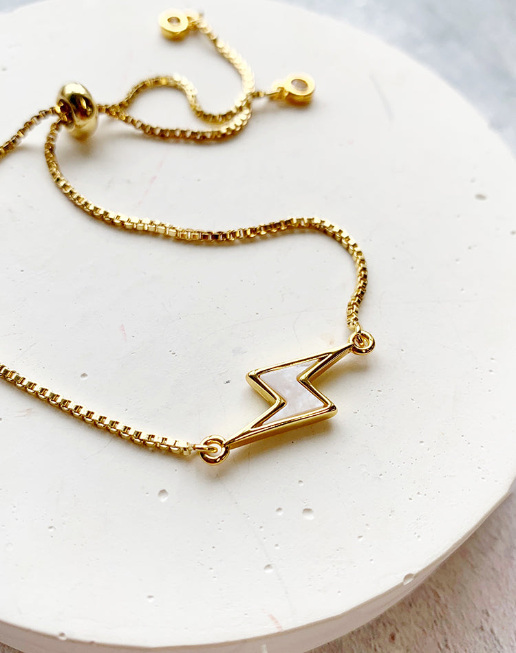Strike It Lucky Lightning Bracelet