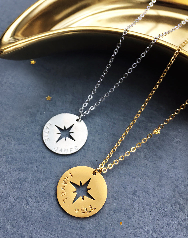 Traverse Compass Necklace
