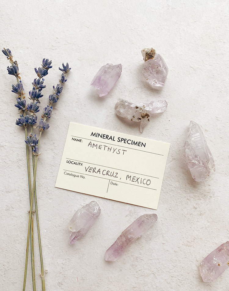 Amethyst Crystal Raw Point