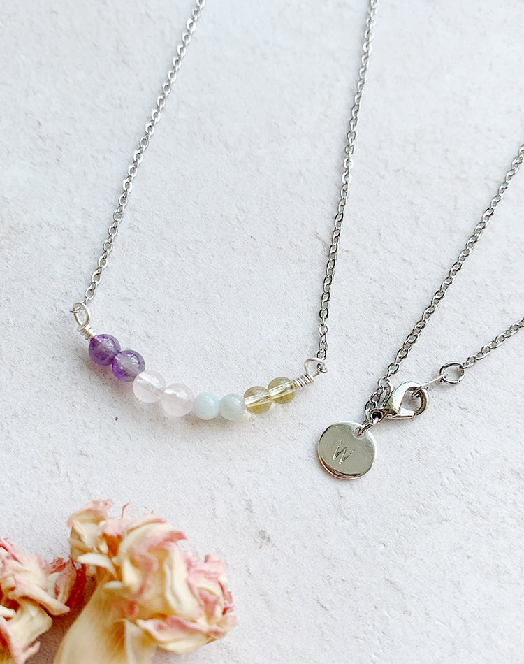 Amulet: Crystal Necklace for Wellbeing