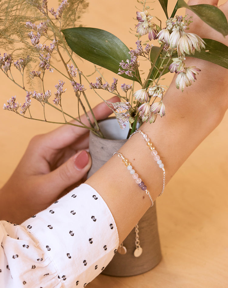 Amulet: Crystal Bracelet for Wellbeing