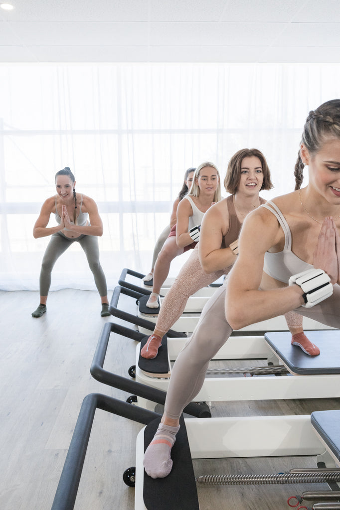 HIIT, FIT, Barre, Reformer Pilates, Workout, Cardio, High Intensity