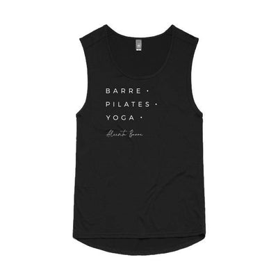 Aleenta BARRE Barre • Pilates • Yoga Top - Black