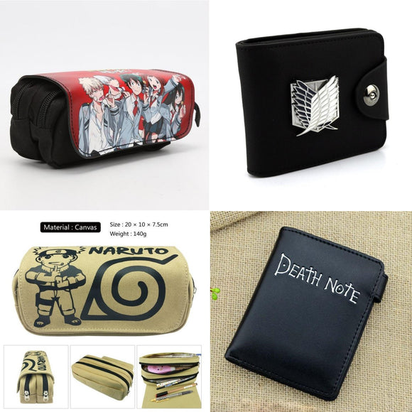 Wallets and Pencil cases