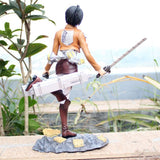 Attack on Titan Mikasa Action Figure 25 cm