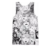 Aheago Printed Tank Top