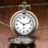 Naruto Quartz Pendant Pocket Watch With Necklace Chain